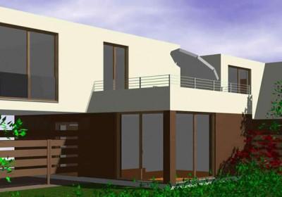 Passivhaus, Niedrigenergiehaus: Single-Haus