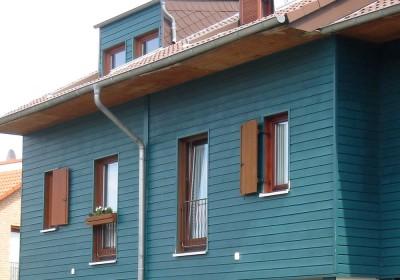 Reihenhaus Holzbauweise